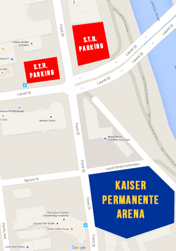 STH Parking Map
